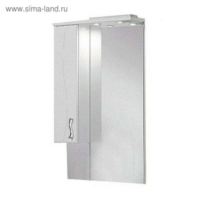 Зеркало со шкафом Акватон Дионис М левое