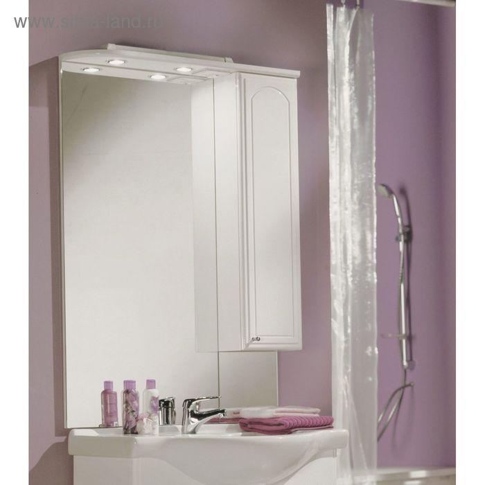Зеркало со шкафом Акватон Майами 75 правое