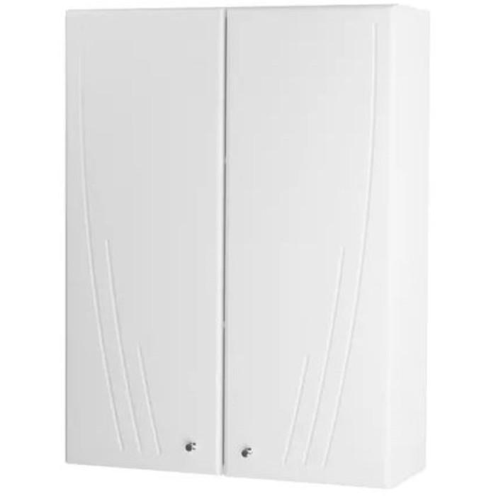 Шкаф подвесной двустворчатый Акватон Минима белый