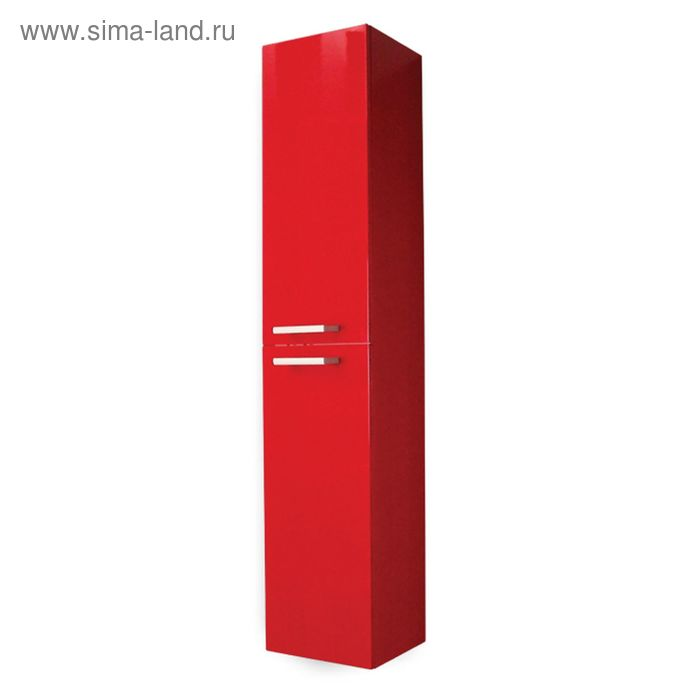 Шкаф-колонна Акватон Мадрид М бордо темный