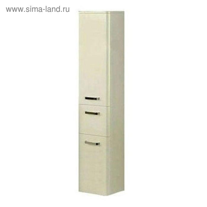 Шкаф-колонна Акватон подвесная Валенсия левая, белый жемчуг