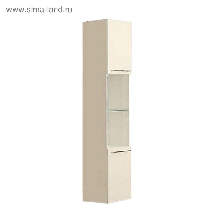 Шкаф-колонна Акватон подвесная Севилья белый жемчуг