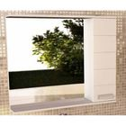 "Зеркало-шкаф для ванной ""Модена-90"" 78,6 х 90 х 15,4 см, белое"