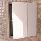 "Зеркало-шкаф для ванной ""Тулуза-60"" 67 х 60 х 14 см, цвет сосна лоредо"