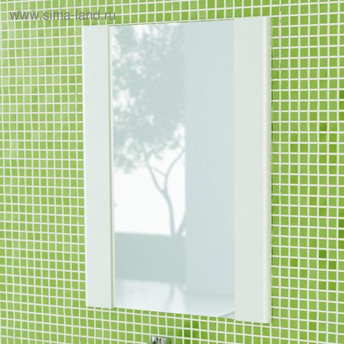 "Зеркало для ванной ""Флоренция-70"" 80 х 70 х 2,2 см, белый"
