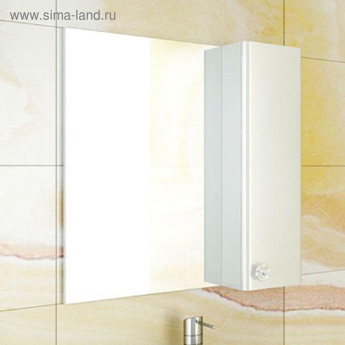 "Зеркало-шкаф для ванной ""Флоренция-70"" 75 х 70 1,5 см, белый"