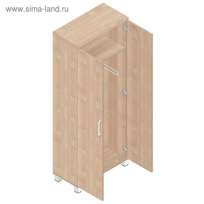 Шкаф для одежды 800х400х2000 Аттика