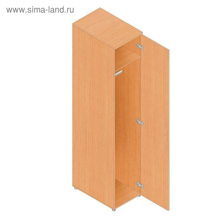 Пенал-гардероб узкий 402х610х1960 Бук-С