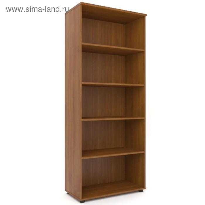 Шкаф для бумаг открытый 798х418х1960 Орех
