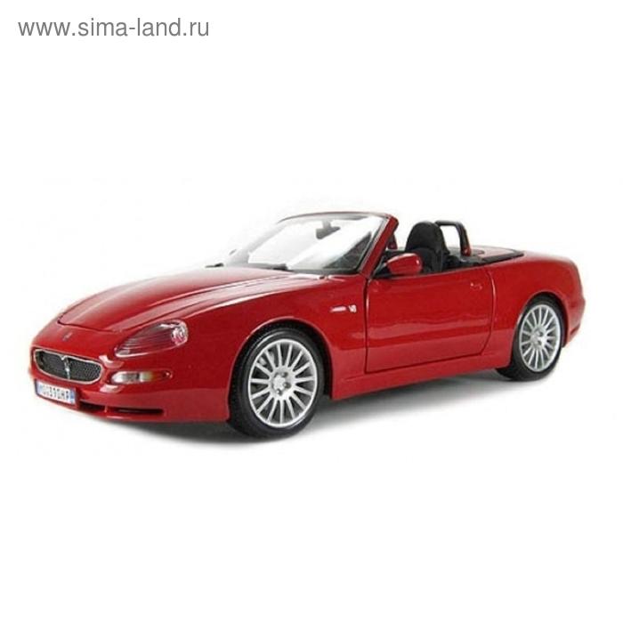 Коллекционная машинка Maserati GT Spyder 1:18