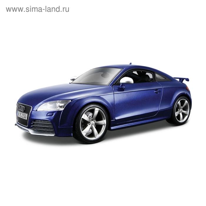 Коллекционная машинка Audi TT RS, масштаб 1:18, металлическая