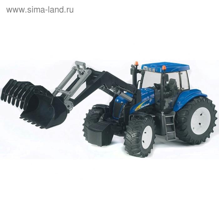 Трактор New Holland T8040 с погрузчиком