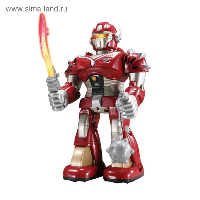 Робот-воин, цвет красный