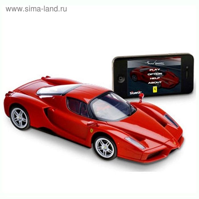 Машина с управлением от  iPhone/iPad/iPod через Bluetooth Ferrari Enzo1:16 86067