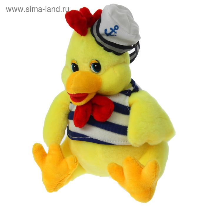 "Мягкая игрушка ""Петух-морячок"""