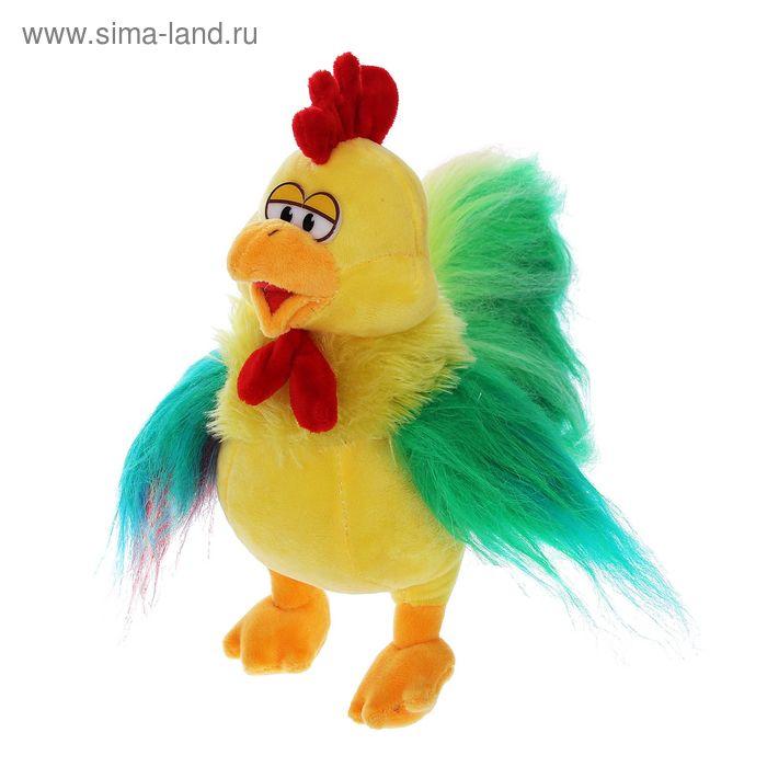 """Мягкая игрушка """"Петушок"""" яркие крылья и хвост"""