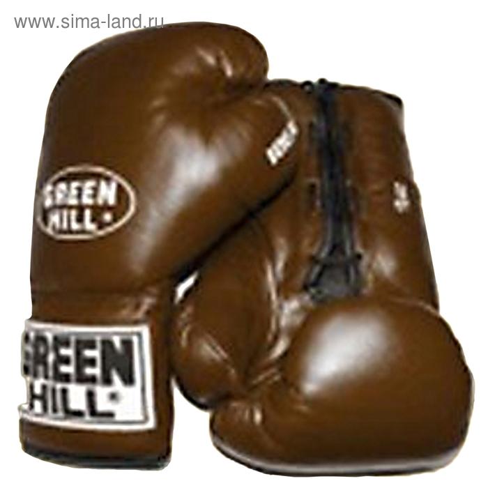 Боксерские перчатки BGI-2051 IDEAL    10 oz коричневые