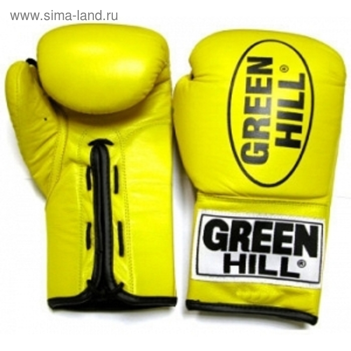 Боксерские перчатки BGD-1215 FORCE 18 oz желтые