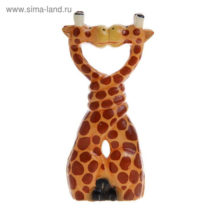 "Сувенир ""Целующиеся жирафы"""