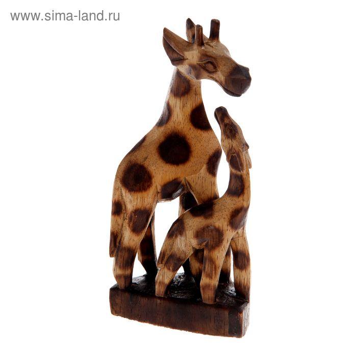 """Сувенир """"Два жирафа: мать и дочь"""""""
