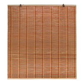 "Штора рулонная бамбук 160х150 см ""Капучино"""