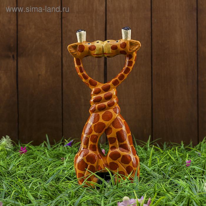 """Сувенир """"Влюблённые жирафы"""""""