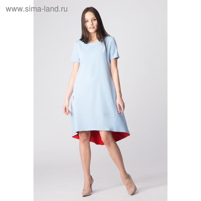 Платье женское, размер 44, рост 168, цвет голубой (арт. 17250)