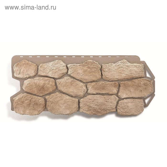 """Фасадная панель """"Бутовый камень"""", нормандский 1,13х0,47м"""