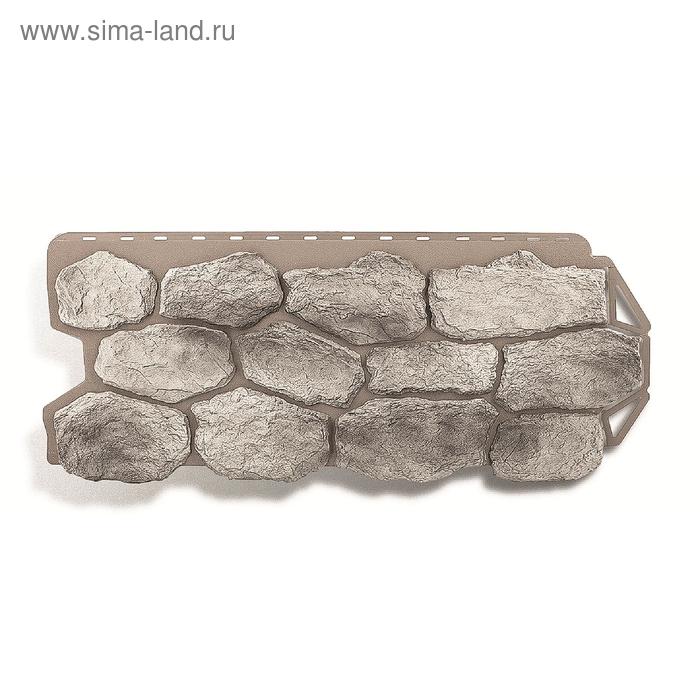 """Фасадная панель """"Бутовый камень"""", скандинавский 1,13х0,47м"""