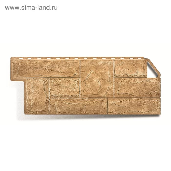 """Фасадная панель """"Гранит"""", уральский 1,13х0,47м"""