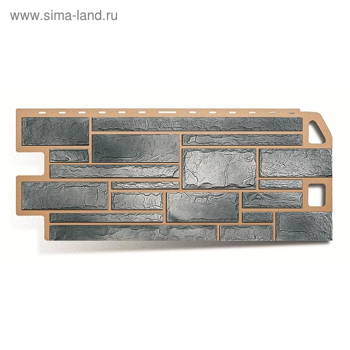 """Фасадная панель """"Камень"""", топаз 1,14х0,48м"""