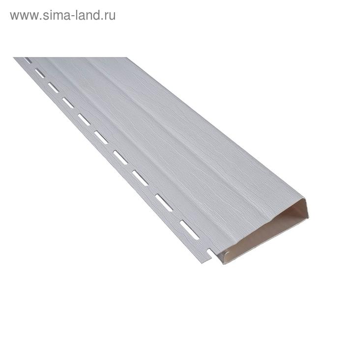 Планка-наличник Т-09, белый 3,66м