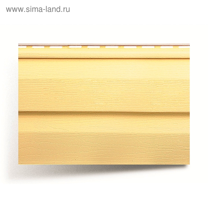 Панель виниловая Т-01, жёлтый 3,66м