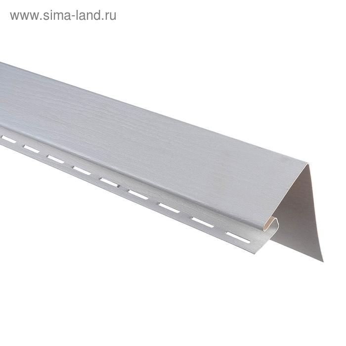 Планка околооконная Т-17, серебро 3,05м