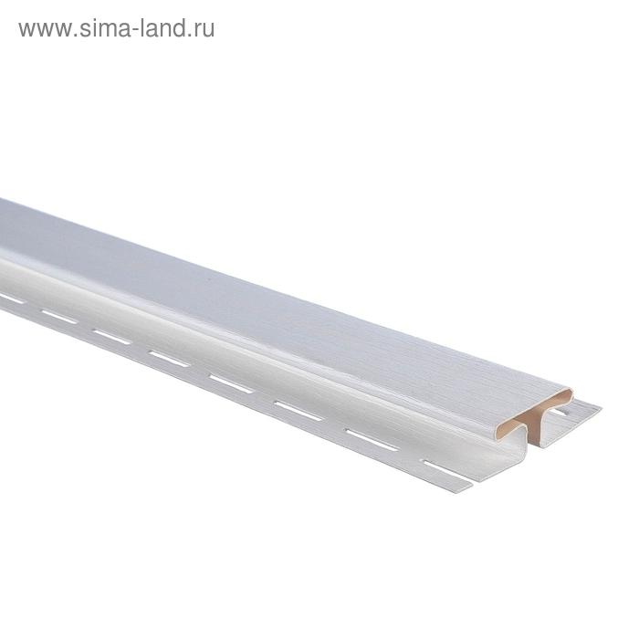Планка соединительная Т-18, тёмный орех 3,05м