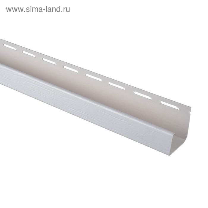 "Планка Т-15 ""J-trim ВН"", коричневый 3,66м"