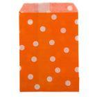 """Пакет фасовочный """"Горох"""", цвет оранжевый, 10 х 15 см"""