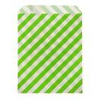 """Пакет фасовочный """"Полоска"""", цвет зелёный, 13 х 18 см"""