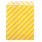 """Пакет фасовочный """"Полоска"""", цвет жёлтый, 13 х 18 см"""