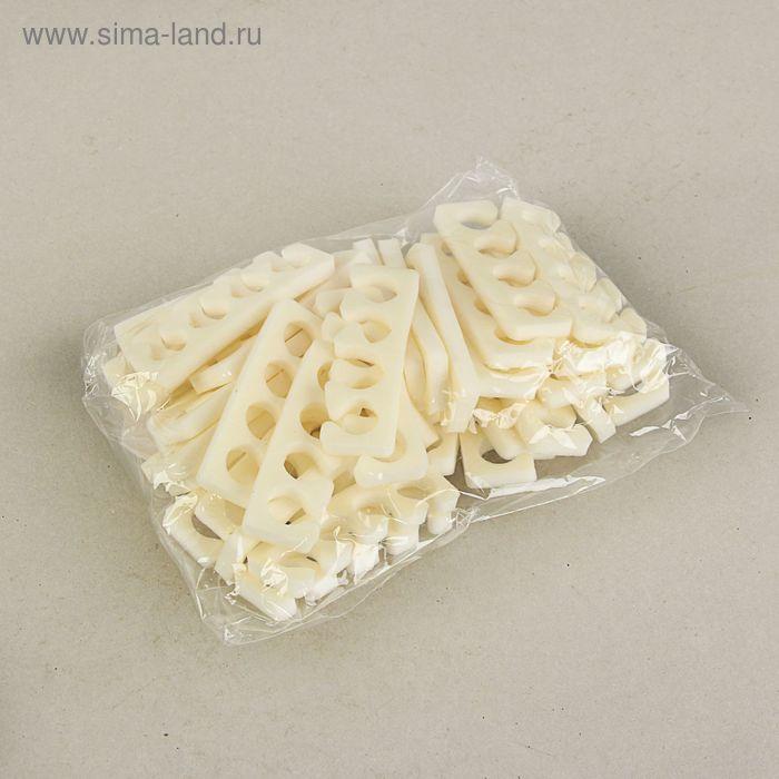 Разделители для пальцев, белые, 8 мм.,20 пар