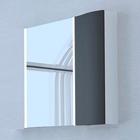 Акватон Премиум Ондина 80 зеркало-шкаф, графит 1A183502ODG20