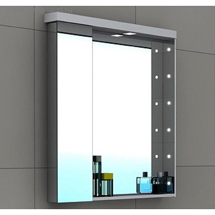 Акватон Премиум Ричмонд 80 зеркало-шкаф 1A152602RD010