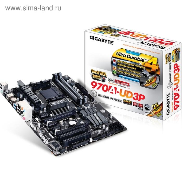 Материнская плата Gigabyte GA-970A-UD3P, Soc-AM3+