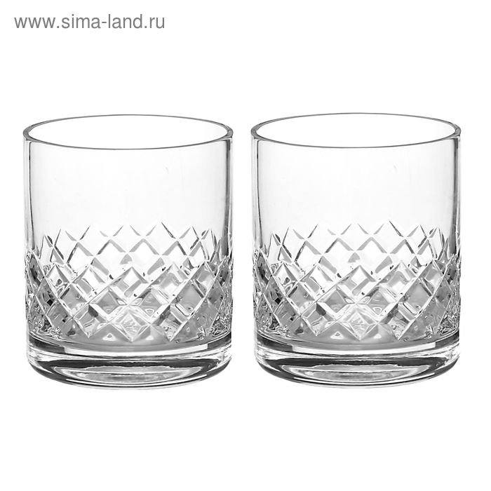 Набор стаканов 300 мл, h=9 см, d=7,8 см, 2 шт