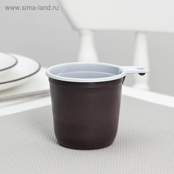 """Набор """"Взбодрись"""": чашка кофейная двухцветная, 6 шт"""