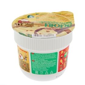 Картофельное пюре со вкусом курицы в стакане 38 гр. Добряк