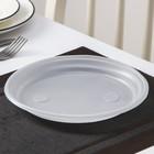 """Набор """"Красавчик"""": 6 тарелок d=20,5 см, 6 стаканов 200 мл, салфетки"""