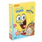 Завтраки   амарантовые «Губка Боб» в сливочной  глазури, витаминизированные, 220 гр
