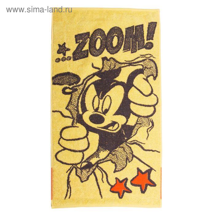 Полотенце махровое Disney Mickey Boom 50*90 см, хл100% 460 г/м