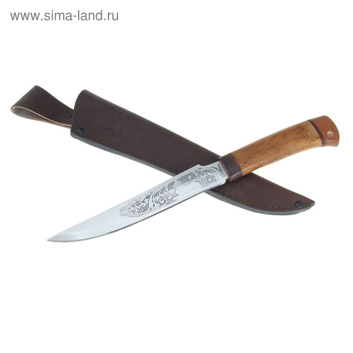 Нож НС-36 г.Златоуст, рукоять-дерево, сталь 40Х10С2М